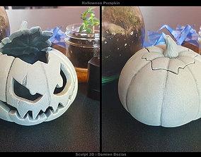 3D print model Halloween Pumpkin