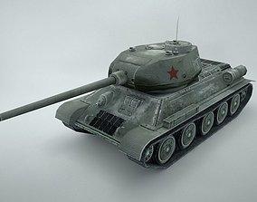 Tank T-34-85 3D asset