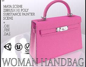 3D model realtime Woman Handbag