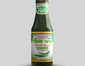 bottle Sauce Bottle 3D