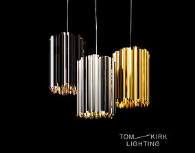 3D Tom Kirk Facet Pendant Ceiling Light tom