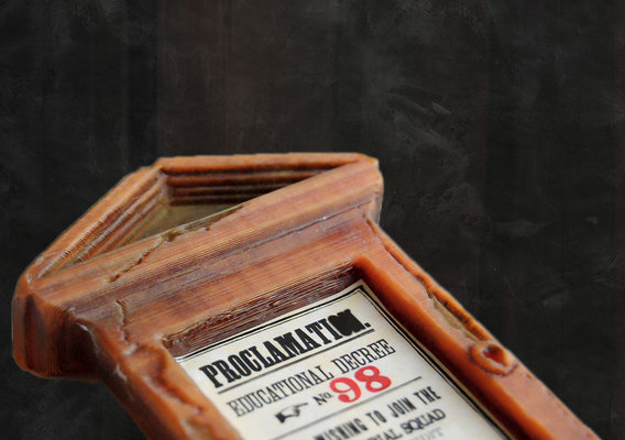 Educational Decrees 3D Printable Model - Harry Potter