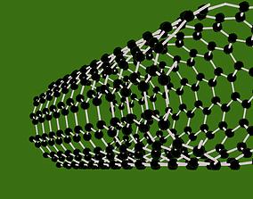 carbon nano tube 3D model
