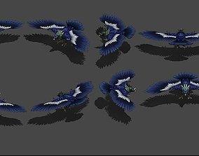3D asset eagle Condor