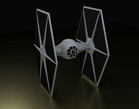TIE Fighter 3D print model
