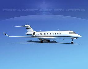 Bombardier Global 5000 V13 3D