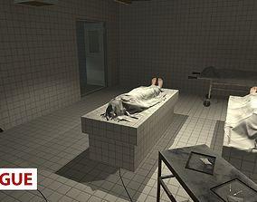 3D asset Morgue - Interior