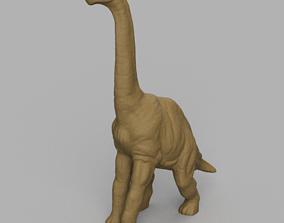 3D print model Dinosaure au long coup 2