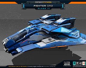 3D model SF Fighter GR2