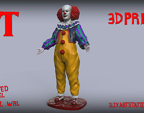 Tim Curry Pennywise Clown It 1990 3D print model