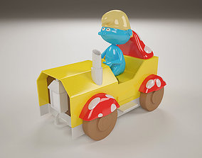 The Smurf Toy 3D