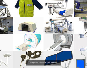 3D model Hospital Collection