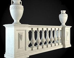 house 3D model Baluster