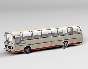 racing Old Bus 3D model