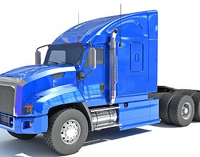 trucks Blue Truck 3D
