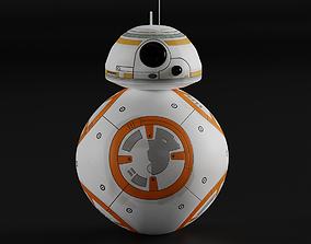 3D BB8 Robot Star wars