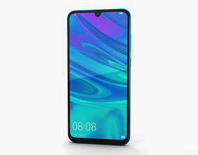 3D model Huawei P Smart 2019 Aurora Blue