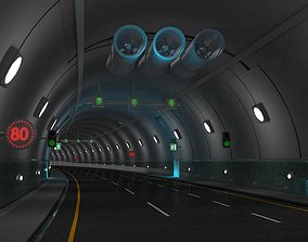 Tunnel Highway 3D model