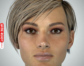 Female Head - Ana - Gen2 3D