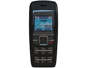 3D telephone Nokia 1600 Black