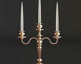 3D model Golden Candlestick