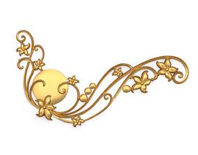 Classic decor ornament 03 3D printable model