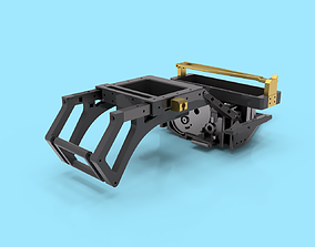 3D printable model Traxxas 2wd Solid Rear Axle Conversion