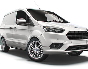 light Ford Transit Courier Limited 2021 3D