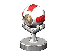 3d model-replica of a human eye anatomy lens