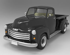 buick 3D model GMC 1951 pickup