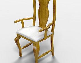 3D Veracruz Rustic Armchair