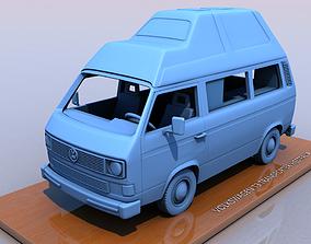 3D printable model VOLKSWAGEN T3 TRANSPORTER WESTFALIA - 1