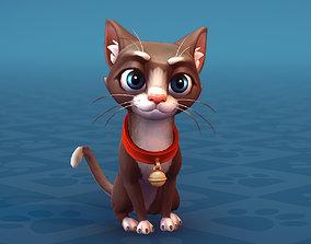 3D asset Cat Shorthair Cartoon