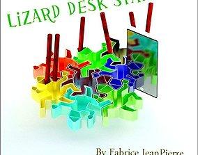 3D printable model desk-stand LIZARD DESK STAND