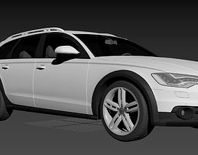 Audi A6 Allroad C7 3D model