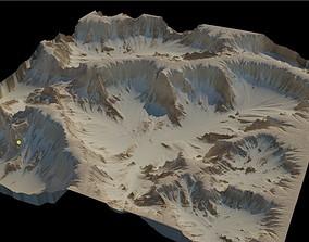 3D Desert terrain - 16k