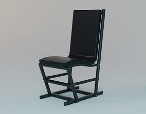 chair 3D model game-ready Modern Chair