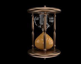 sandglass 3D model Hourglass