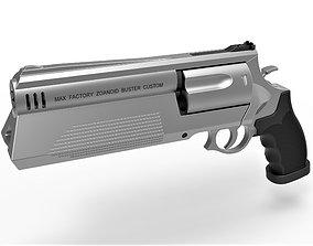 3D model Zoanoid Buster revolver from the Guyver