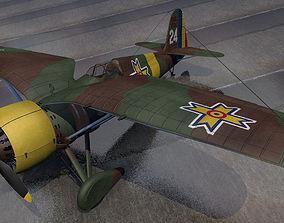 PZL P-24G 3D model