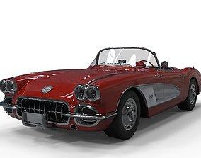 3D model Chevrolet Corvette 1960