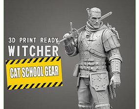 3D print model sculptures The Witcher
