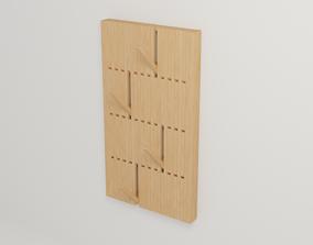 Hange coat design PIANO 3D