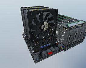 3D asset Computer assembly 2014