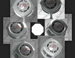 Flat 8 sides 4k Synth HDRI 3D model