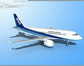 Falcon3D A319 All Nippon Airways rigged