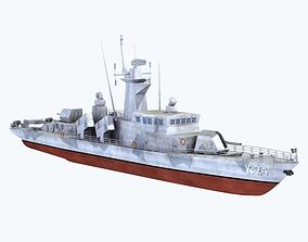 3D model Goteborg Missile Boat
