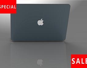 Apple notebook macbook 3D asset