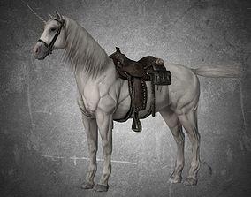 3D model Horse - Unicorn