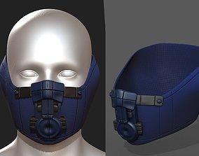 3D model Gas mask protection futuristic 2